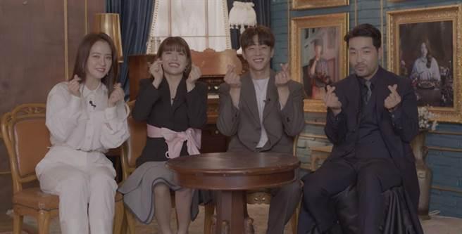 宋智孝、南志鉉、蔡鍾協、河道權一起接受專訪。(friDay影音提供)