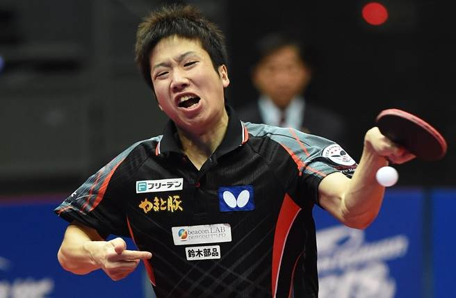 日本桌球好手水谷隼。(本報系資料照)