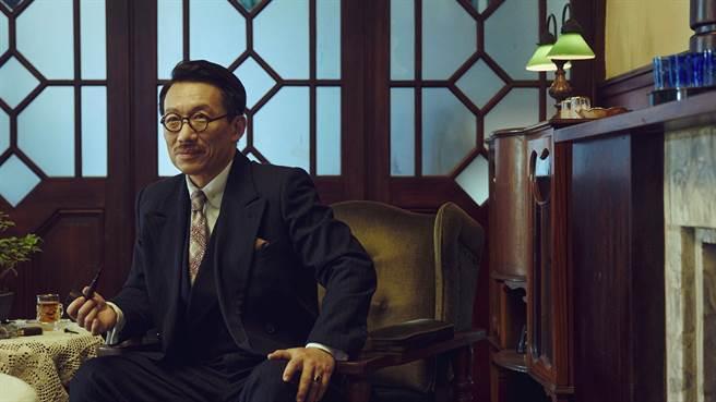 郭子乾在《茶金》飾演茶葉大亨。(公視提供)