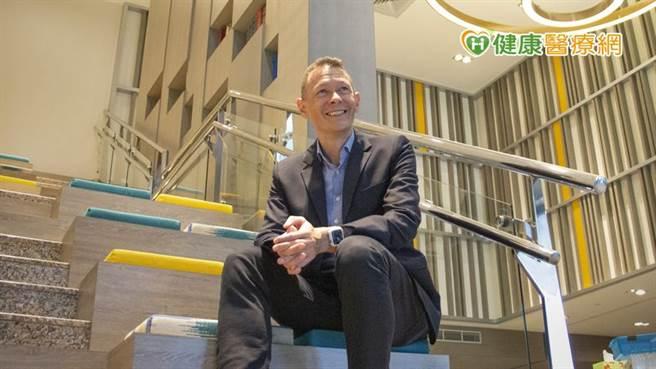 外商藥廠台灣總經理Philip Ho。(圖/健康醫療網提供)