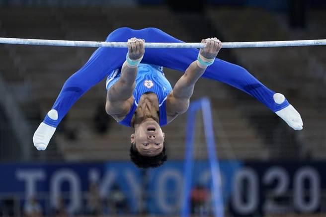 台灣體操好手唐嘉鴻。(美聯社)