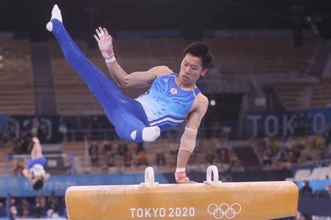 「鞍馬王子」李智凱將在1日的體操鞍馬項目爭金奪銀。(中央社/資料照)