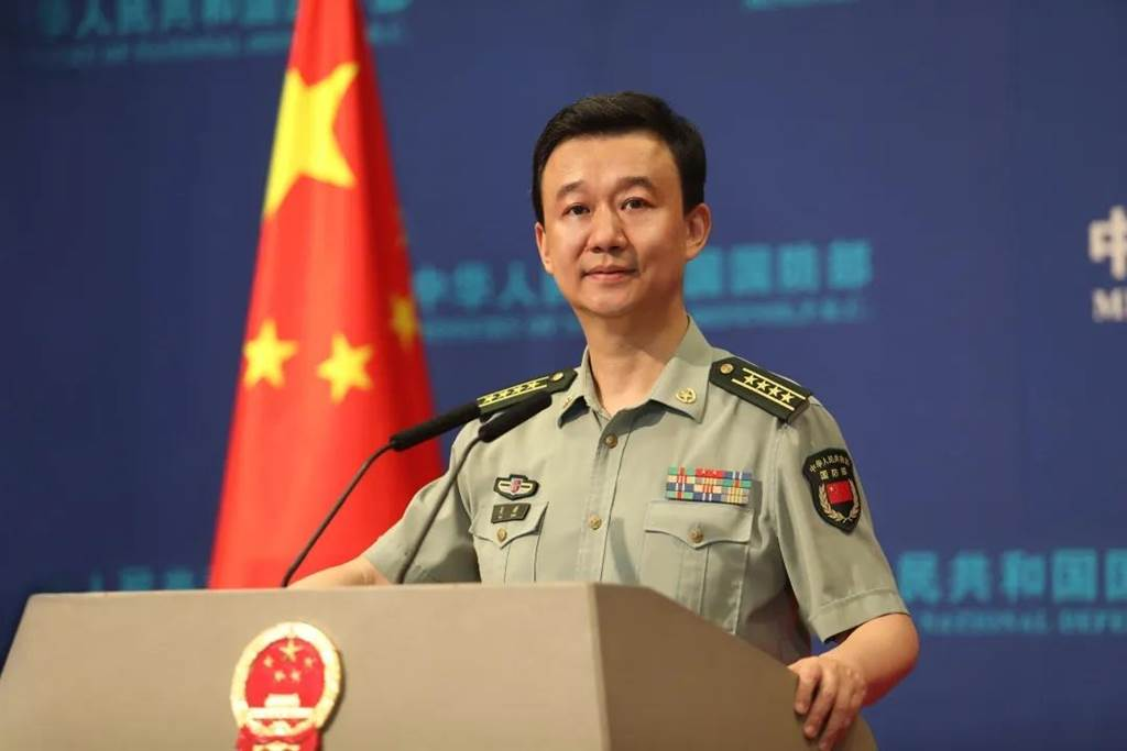 中國國防部新聞局局長、國防部新聞發言人吳謙大校主動發佈,俄軍將參加8月上中旬在大陸舉行的「西部·聯合-2021」演習。(大陸國防部官網)