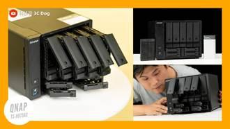 惡搞 3 萬元 NAS 系統 QNAP TS-h973AX 9 Bay NAS 開箱實測