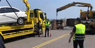 瑞芳台2線嚴重車禍!4車追撞 5人輕傷送醫