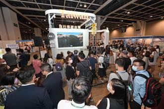 香港國際旅展開幕  台灣館虛實整合推觀光