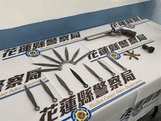 破獲非法兵工廠追到「流氓藥師」 劉信和暗藏刀槍與大麻