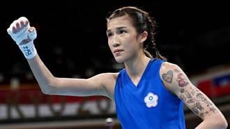 東奧》拳擊女將黃筱雯力抗對手躋身8強 高中教練讚:發揮超常水準