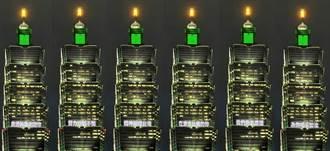 奧運英雄謝謝你 台北101點燈喝采加油
