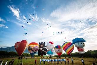 台東熱氣球池上牧野首飛挨轟 上百鄉民到場陳抗