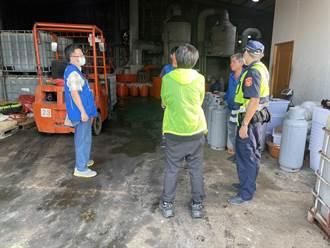 雲林環保局與警合作 查獲不法重金屬地下工廠