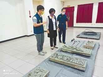 彰化金銀廳黃家古墓石雕遭竊 盜賊落網