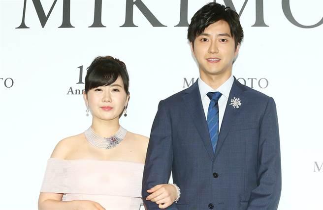 福原愛、江宏傑結婚前就被日媒唱衰格差婚。(圖/中時資料照片)