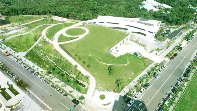 文青水園水資源回收中心。(市府提供/蔡依珍桃園傳真)