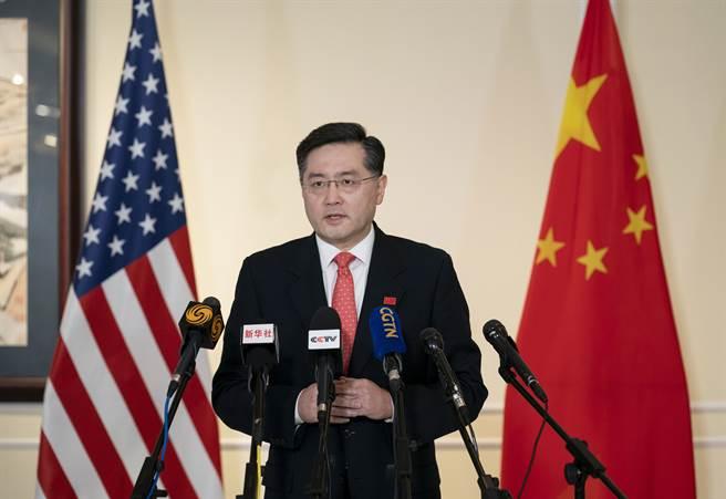 中國新任駐美大使秦剛。(圖/新華社)