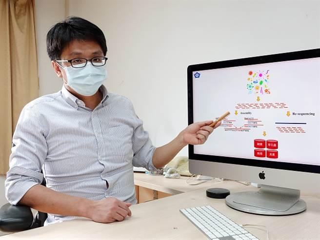 疫情不明感染原因難追,中正大學教授黃耀廷著手建置「台灣病原體在地資料庫」。(圖/中正大學提供)