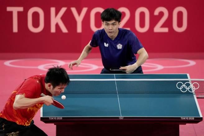 林昀儒在準決賽中打得非常出色,球評認為將來他會是在歷史上留名的最頂級運動員之一。(圖/美聯社)