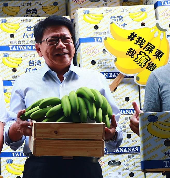 《遠見雜誌》公布2021縣市長施政滿意度調查,屏東縣長潘孟安再度獲得五顆星,也是第3度蟬聯五星首長,施政分數78.4分。(謝佳潾攝)