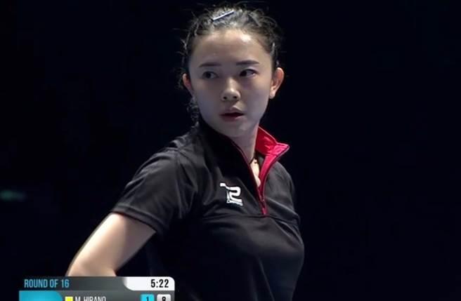 韓國桌球美女田志希。(取自田志希微博)