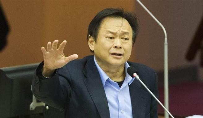 民進黨台北市議員王世堅。(資料照,鄭任南攝)