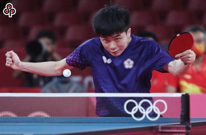我國桌球選手林昀儒。(季志祥攝)