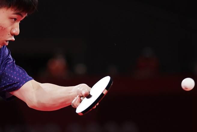 台灣19歲桌球好手林昀儒在東奧一戰成名。(路透)