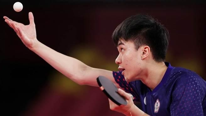 19歲林昀儒的實力震撼桌球界,30日將爭銅牌。(路透)