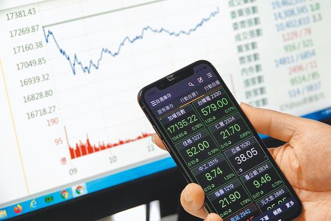 受美股回跌收低及港股重挫,科技股湧現賣壓影響下,台北股市28日開低走低,終場加權股價指數收在17135.22點,下跌134.65點,跌幅0.78%,成交金額新台幣5554.83億元。(黃世麒攝)