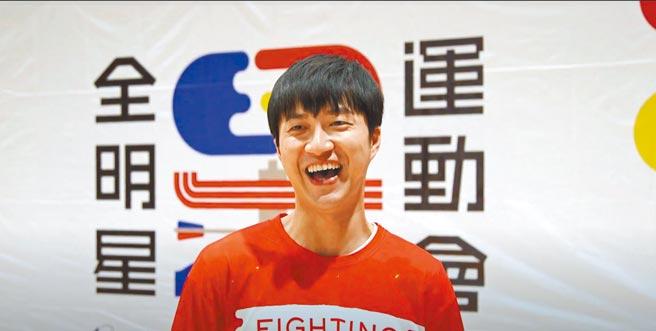 江宏傑日前開心復工《全明星運動會2》,臉看起來有些圓潤。(三立提供)