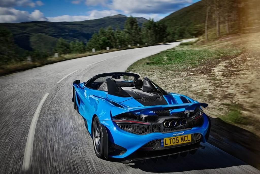 極致性能和駕駛參與度的新高度!McLaren 765LT Spider限量生產765輛