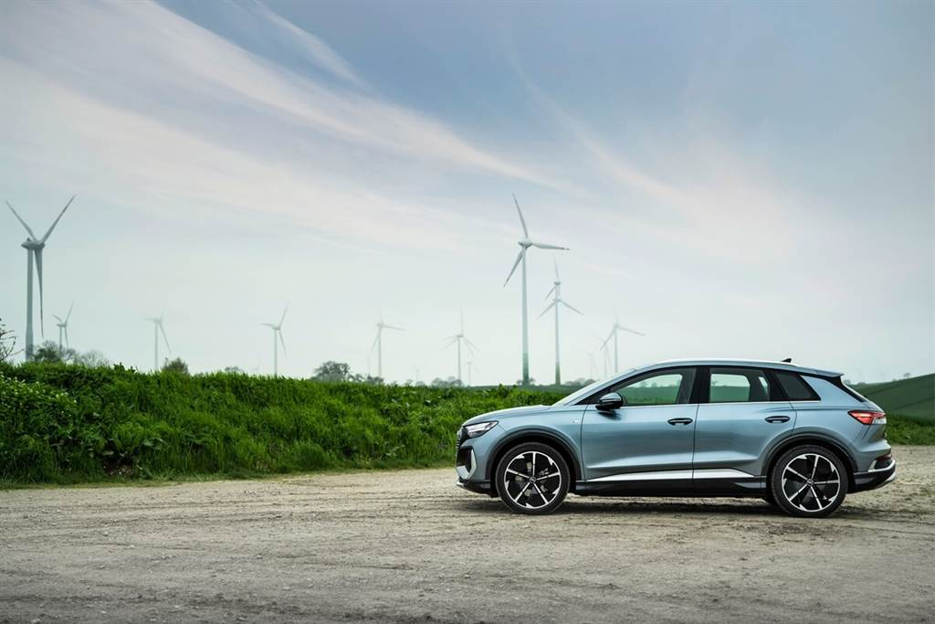 Audi新增Q4 45 e-tron quattro全輪驅動車型