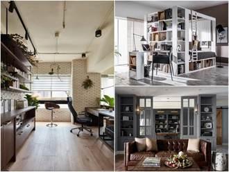 10 款特色書房一覽 ! 不只氛圍超讚,還兼具多功能設計 !