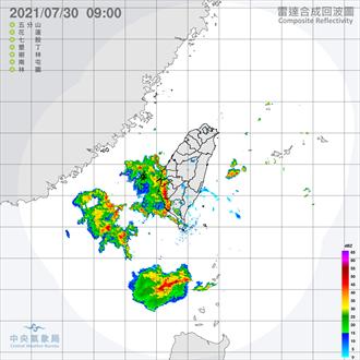 西南季風影響連日多雨 吳德榮:明起嚴防致災雨勢