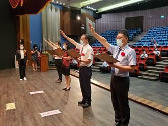 雲林縣13名校長交接 降級後雲林首次大型室內聚會