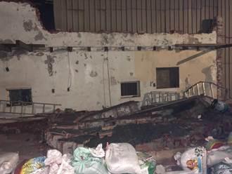 男拿電鑽拆自家圍牆 牆倒塌遭壓死
