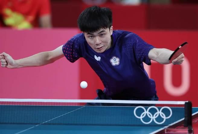 桌球神童林昀儒將世界球王樊振東逼至絕境,連樊振東賽後都表示讓人意想不到。(中時資料照/季志翔攝)