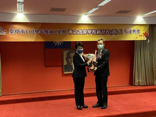 台中市長盧秀燕強調,孩子不是每次都會成功,但是教育的意義在於永遠支持他,永不放棄。(盧金足攝)