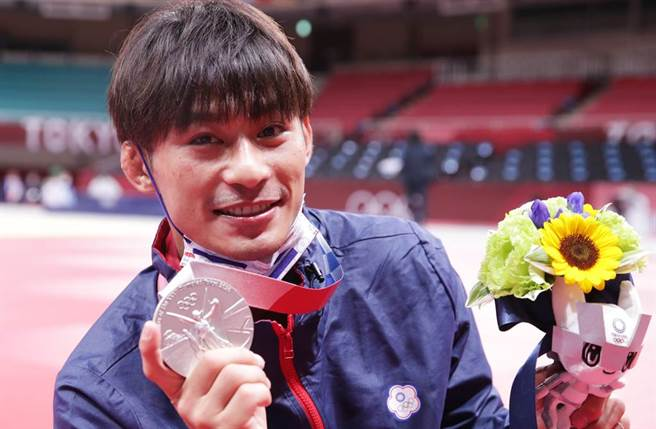 「柔道男神」楊勇緯首度前進奧運殿堂就勇奪銀牌。(圖/季志翔攝)