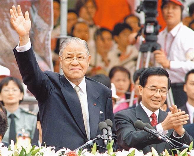 前總統李登輝、陳水扁。(圖/本報資料照)