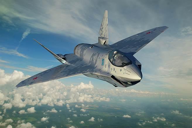 儘管將軍戰機的技術細節尚未公開,但航空專家認為,從空氣動力學上看,將軍戰機的隱形能力「明顯要比俄羅斯第一款5代機蘇-57更好」。(圖/推特@RAeSTimR)
