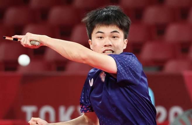 台灣桌球好手林昀儒。(季志翔攝)