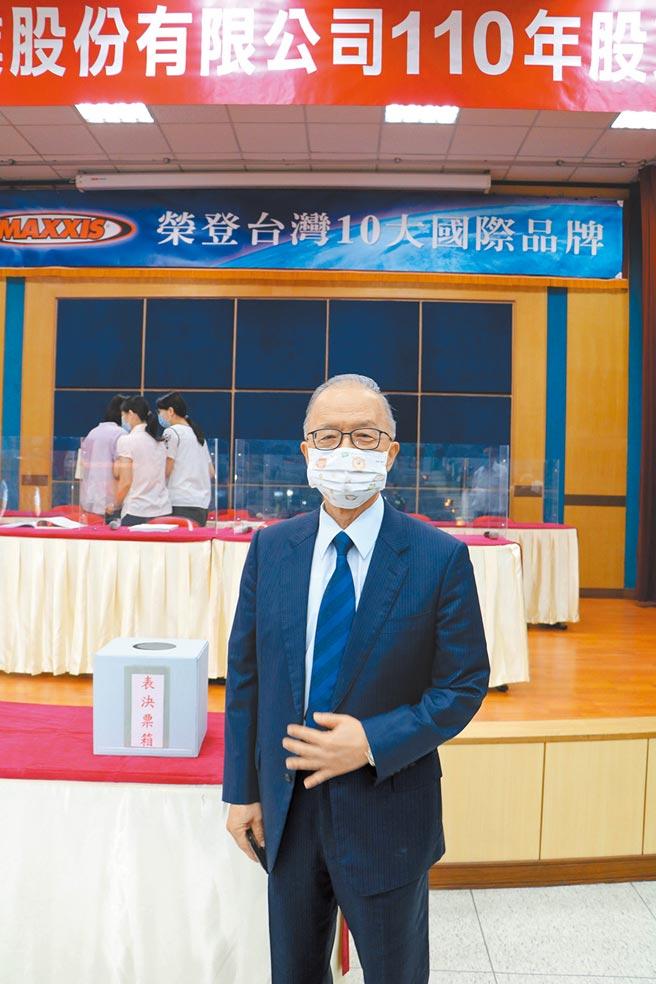 正新橡膠董事長陳榮華。圖/劉朱松