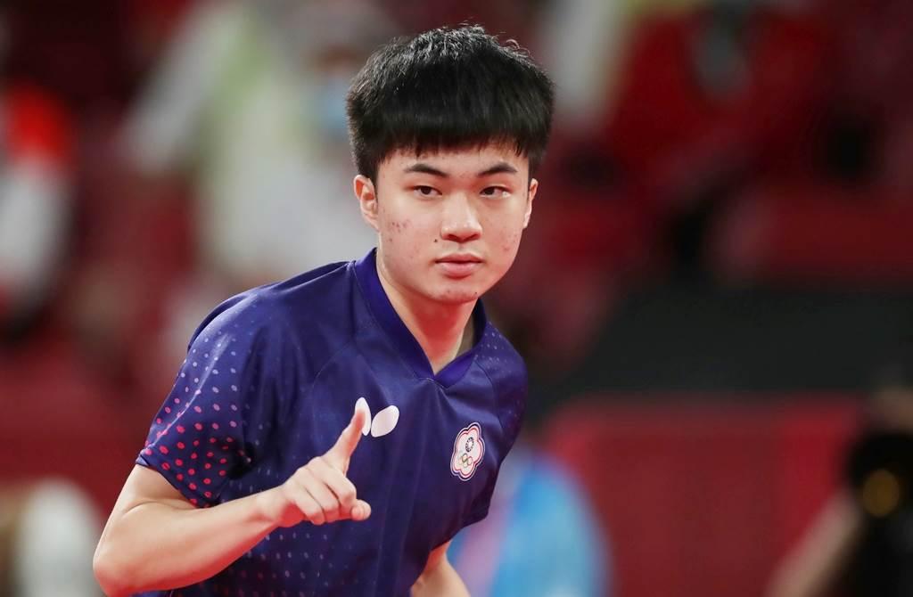 林昀儒在本次奧運桌球混雙奪下銅牌,男單也打進4強,精湛球技讓國人為之瘋狂。(圖/季志翔攝)