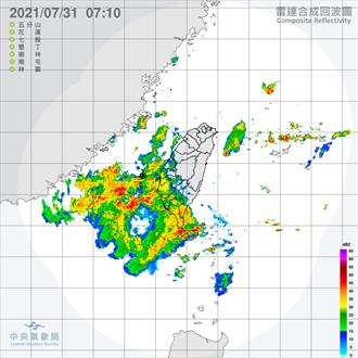 西南季風持續至8月9日  吳德榮:西南部慎防致災