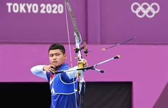東奧》加射驚險退以色列選手 湯智鈞晉級射箭男子賽8強