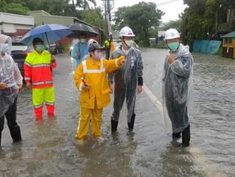 高雄水利局接獲29件積淹水災情通報 17件已退水