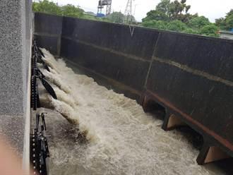 西南氣流豪雨強灌 台南上午5區12處淹水