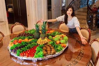 田心蕾買20種蔬果做疫苗餐孝親 見郭婞淳奪金噴淚