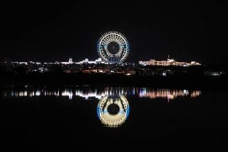 全台最大摩天輪東奧燈光秀 夜夜點亮替中華健兒加油