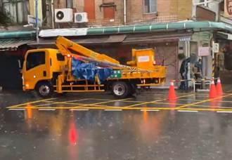 議員批暴雨中加裝防漏電裝置 工務局:例行檢修巡查